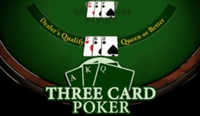 ボンズカジノで遊べるおすすめポーカー【スリーカードポーカー】